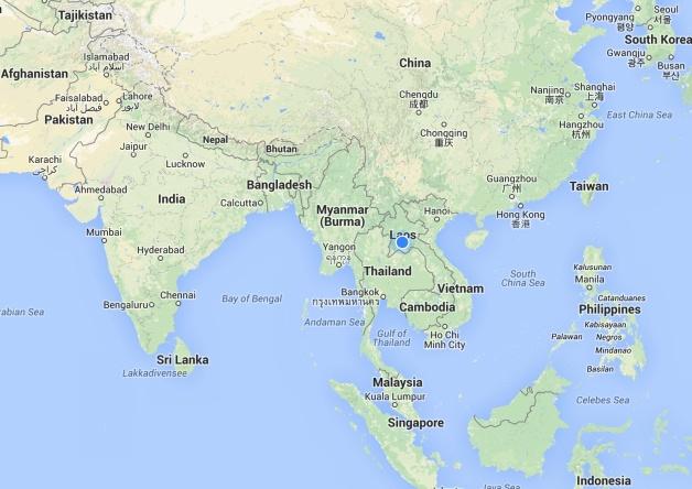 Maps: Laos