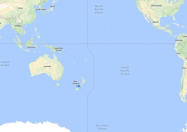 Map: Oceania