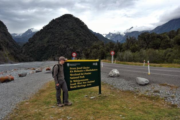 at Franz Joseph Glacier