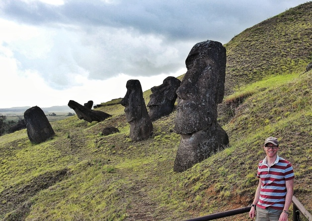 at Rano Raraku