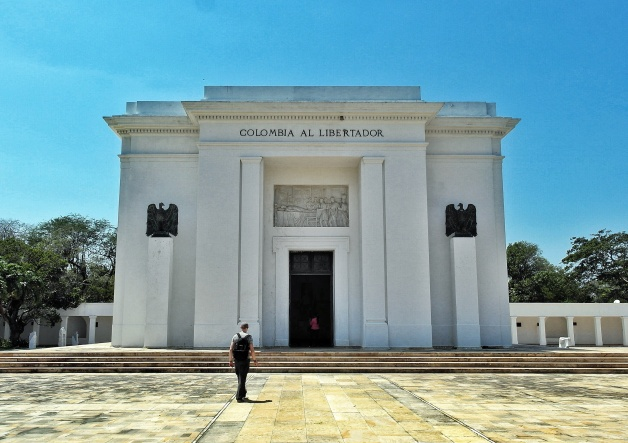 Simon Bolivar memorial