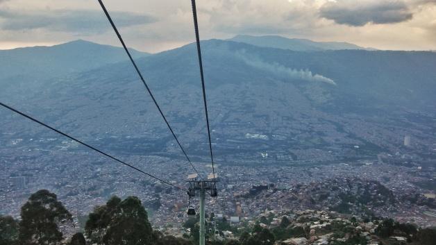 Metrocable, Medellín