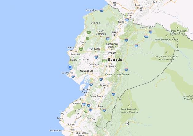 Map: Ecuador