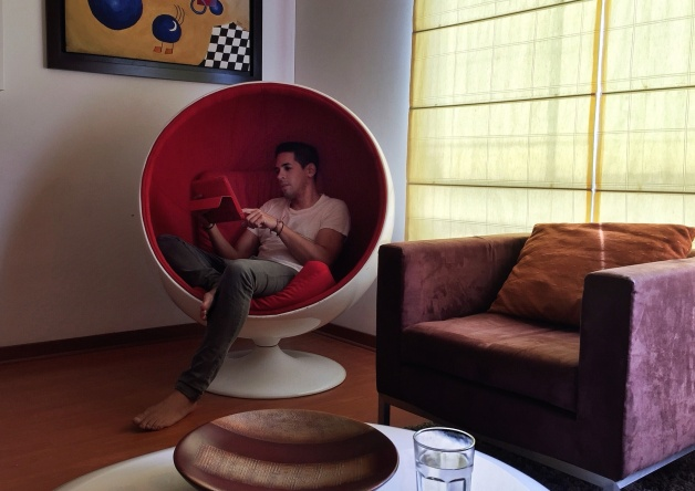loving the Ball Chair