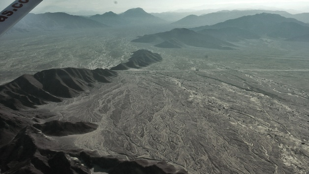 Nazca desert and the Panamericana