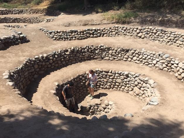 Cantalloc Aqueduct, Nazca