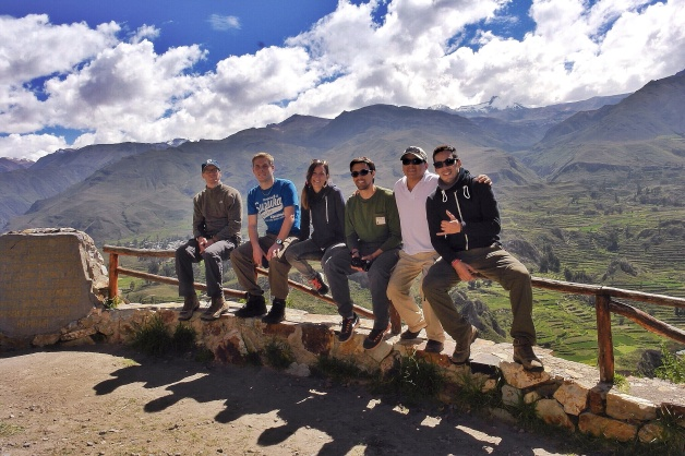 Colca Canyon tour group