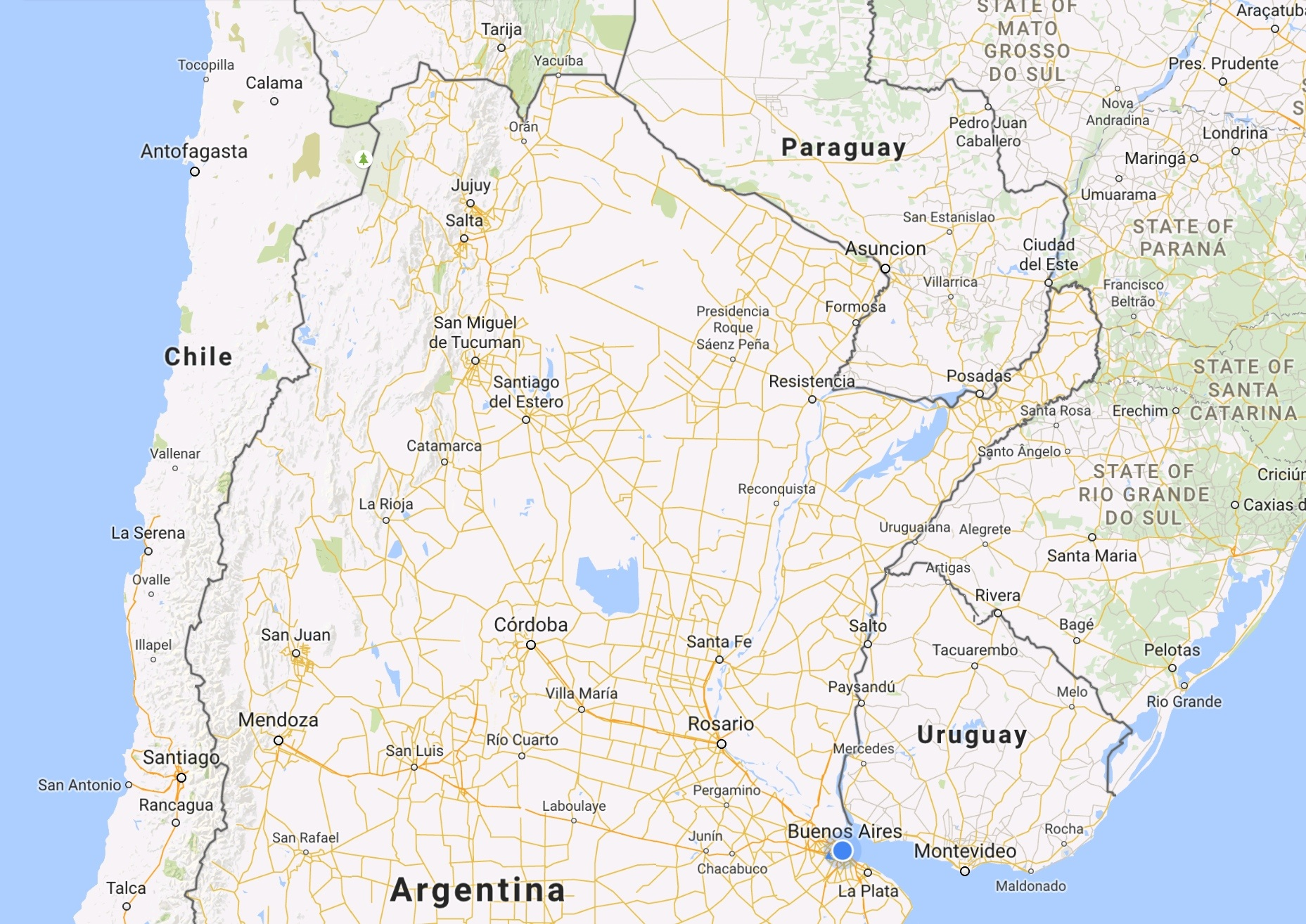 All Good Things We Are Out Of The Office - Junin argentina map