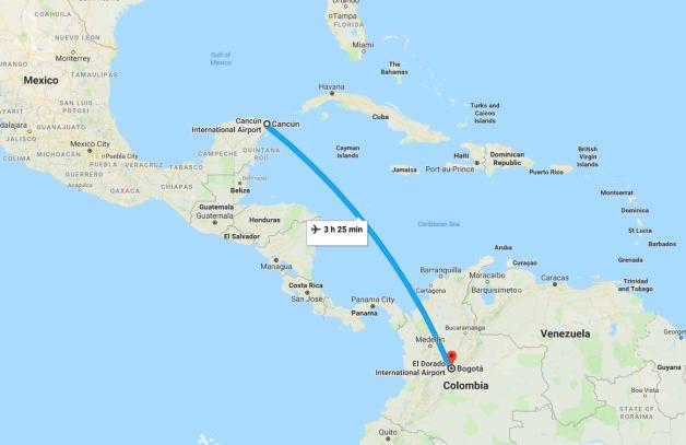 cancunbogotaMAP